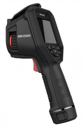 Hikvision DS-2TP21B-6AVF/W Hordozható, testhőmérsékletre optimalizált hő- és láthatófény(2MP) kamera; kijelző; WiFi;audio alarm