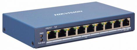 Hikvision DS-3E1309P-EI 9 portos PoE switch (110 W); 8 PoE + 1 uplink port; smart menedzselhető