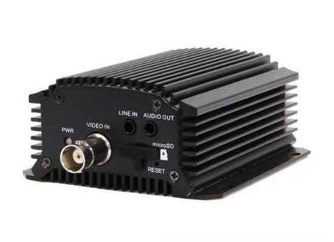 Hikvision DS-6701HUHI 1 csatornás enkóder; 5MP@12fps; 4MP@15fps; 1080p@25fps