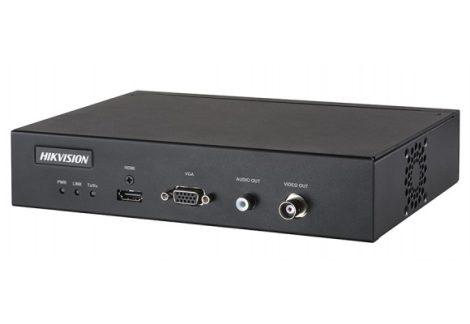 Hikvision DS-6901UDI Dekóder szerver 1 HDMI 4K kimentettel;2x12 MP, 4x8 MP, 6x5 MP, 10x3 MP vagy 16x1080p kép dekódolása