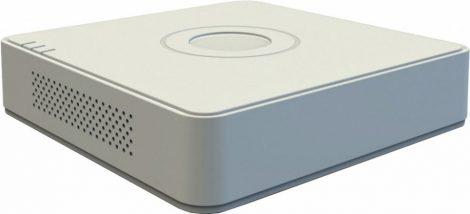 Hikvision DS-7104HGHI-F1 (S) 4 csatornás THD DVR; 1080p lite@25fps; 720p@25fps; max.5×2MP IP; koax audio