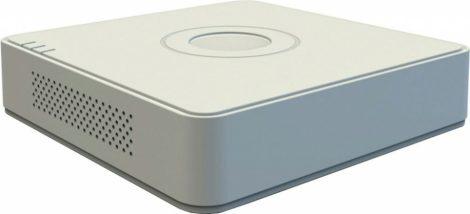 Hikvision DS-7108HQHI-K1 (S)(C) 8 csatornás THD DVR; 4MP lite@15fps; 1080p lite@25fps; 1080p@15fps; + 2×6MP IP; koax audio