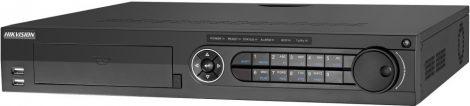 Hikvision DS-7316HUHI-K4 16 csatornás THD DVR; 8MP@8fps; 5MP@12fps, 4MP@15fps; 1080p@25fps;max.32×8MP IP;riasztás be-/kimenet