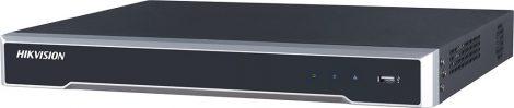 Hikvision DS-7608NI-K2/8P 8 csatornás PoE NVR; 80/160 Mbps be-/kimeneti sávszélesség; riasztás be-/kimenet