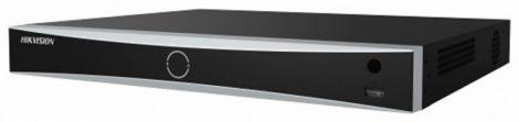 Hikvision DS-7608NXI-I2/S (C) 8 csatornás AcuSense NVR; 80/256 Mbps be-/kimeneti sávszélesség; riasztás I/O