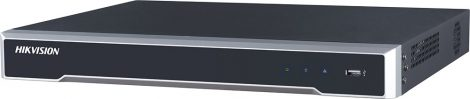 Hikvision DS-7616NI-K2/16P 16 csatornás PoE NVR; 160/160 Mbps be-/kimeneti sávszélesség; riasztás be-/kimenet