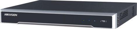 Hikvision DS-7632NI-I2/16P 32 csatornás PoE NVR; 256/256 Mbps be-/kimeneti sávszélesség; riasztás be-/kimenet