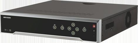 Hikvision DS-7708NI-I4 8 csatornás NVR; 80/256 Mbps be-/kimeneti sávszélesség; riasztás be-/kimenet