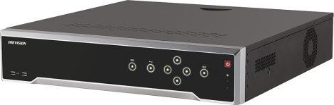 Hikvision DS-7716NI-I4/16P (B) 16 csatornás PoE NVR; 160/256 Mbps be-/kimeneti sávszélesség; 2 HDMI; riasztás be-/kimenet
