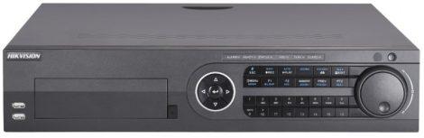 Hikvision DS-8116HUHI-K8 16 csatornás THD DVR; 8MP@8fps; 5MP@12fps, 4MP@15fps; 1080p@25fps; max.32×8MP IP; riasztás I/O