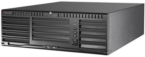 Hikvision DS-96256NI-I16 256 csatornás NVR; 768/768 Mbps be-/kimeneti sávszélesség; riasztás be-/kimenet