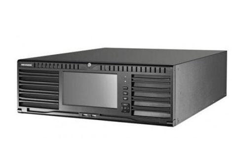 Hikvision DS-96256NI-I24/H 256 csatornás NVR; 768/768 Mbps be-/kimeneti sávszélesség; riasztás be-/kimenet; +6×HDMI(4K) kimenet