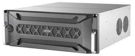 Hikvision DS-96256NI-I24 256 csatornás NVR; 768/768 Mbps be-/kimeneti sávszélesség; riasztás be-/kimenet