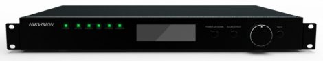 Hikvision DS-D42C16-H LED-fal vezérlő egység; 4096x2160 HDMI/DP, 3840x1080 DVI bemenet; 16 port kimenet; hálózati vezérlés