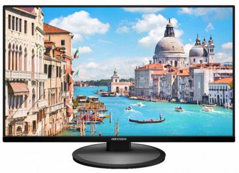 Hikvision DS-D5027UC 27 LED monitor; 178° betekintési szög; UHD felbontás; 24/7 működés; HDMI, VGA, DP