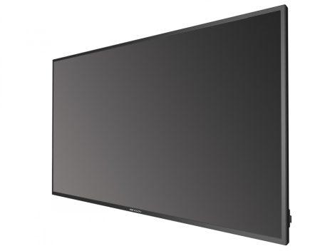 Hikvision DS-D5043UC 43 LED monitor; 178° betekintési szög; 4K Ultra HD felbontás; 24/7 működés; 1200:1 kontraszt