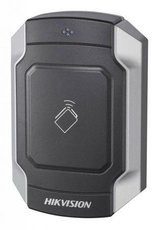 Hikvision DS-K1104M Kártyaolvasó 13.56 MHz (Mifare); RS485 és Wiegand kimenet; kültéri