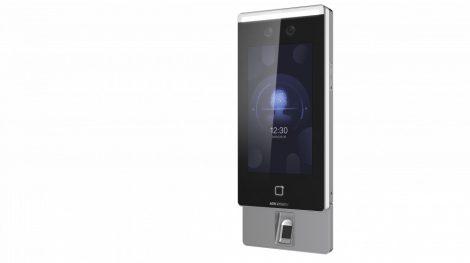 Hikvision DS-K1T671TMFW 7 MinMoe arcfelismerő beléptető vezérlő terminál; ujjnyomat- és Mifare kártyaolvasó; RS485/WG; WiFi