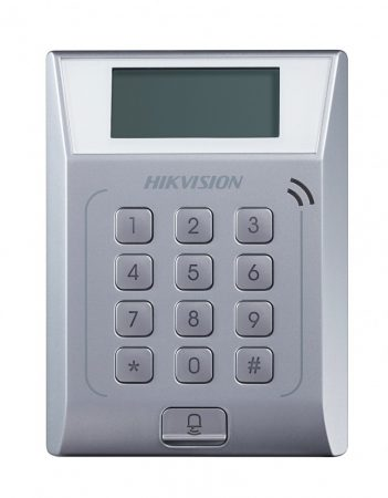 Hikvision DS-K1T802M Beléptető vezérlő terminál; Mifare hitelesítéssel; TCP/IP