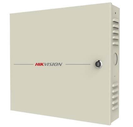 Hikvision DS-K2604 Ajtóvezérlő 4 ajtóhoz;két irány;4 Wiegand&8 RS485 olvasó;4/8 alarm/esemény be-& 4 alarm relé kimenet