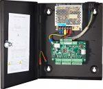 Hikvision DS-K2801 Ajtóvezérlő 1 ajtóhoz; két irány; 2 Wiegand olvasó; 1 eseménybemenet; 1 riasztási relé kimenet