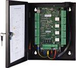 Hikvision DS-K2804 Ajtóvezérlő 4 ajtóhoz; egy irány; 4 Wiegand olvasó; 4 esemény bemenet és 4 riasztási relé kimenet