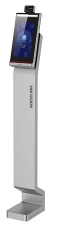Hikvision DS-K5604A-3XF/V 7 MinMoe arcfelismerő beléptető vezérlő terminál testhőmérséklet méréssel; álló kivitel