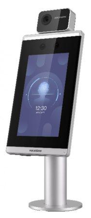 Hikvision DS-K5671-3XF/ZU 7 MinMoe arcfelismerő beléptető vezérlő terminál testhőmérséklet méréssel; beléptetőkapukra