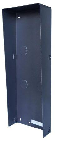 Hikvision DS-KABD8003-RS3 Társasházi IP video-kaputelefon esővédő keret; 3 modulos verzió