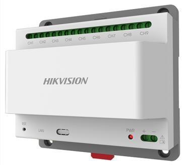 Hikvision DS-KAD709 Disztribútor egység 2 vezetékes IP kaputelefon-rendszerhez