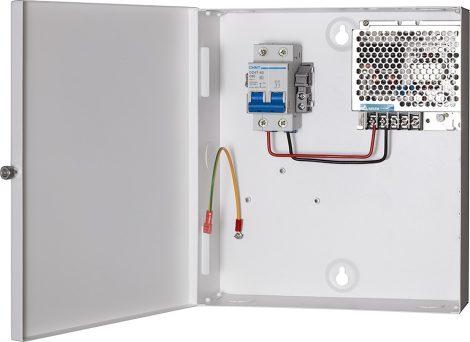 Hikvision DS-KAW50-1 Dobozolt tápegység kaputáblákhoz és lakáskészükékekhez; kimenet: 12 VDC/4.2 A