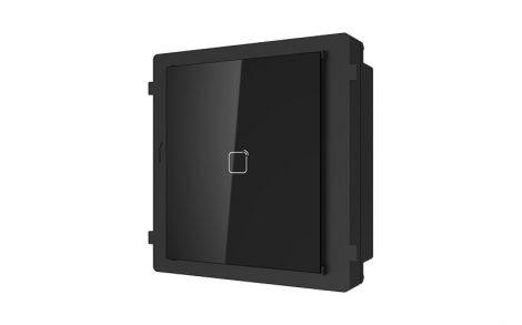 Hikvision DS-KD-E Társasházi IP video-kaputelefon kültéri 125 kHz-olvasó modulegység