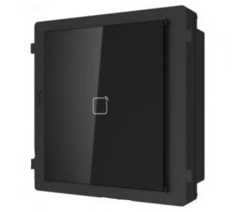 Hikvision DS-KD-M Társasházi IP video-kaputelefon kültéri Mifare-olvasó modulegység