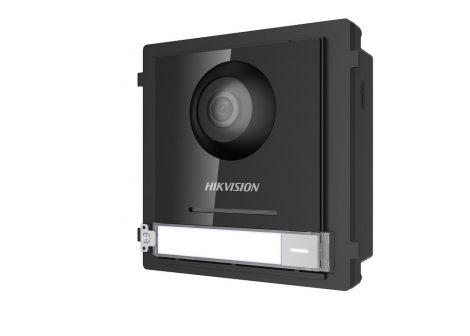 Hikvision DS-KD8003-IME2 Társasházi IP video-kaputelefon kültéri főegység; fém; moduláris; 2 vezetékes