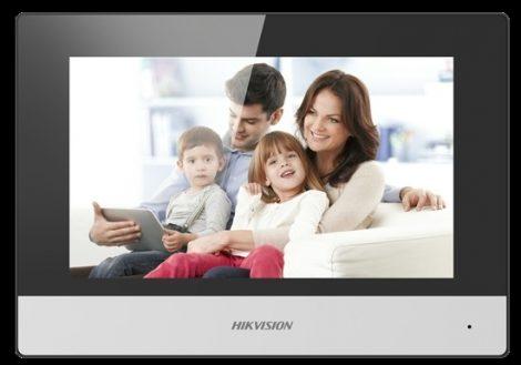 Hikvision DS-KH6320-WTE1 IP video-kaputelefon beltéri egység; 7 LCD kijelző; 1024x600 felbontás; WiFi
