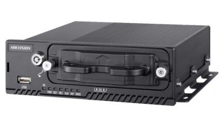 Hikvision DS-MP5604N (M12) 4 csatornás NVR; max. 4 MP; GPS; max. 2TB merevlemez
