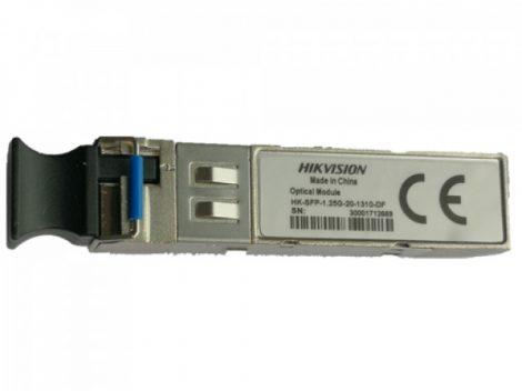Hikvision HK-SFP-1.25G-20-1310-DF Monomódusú SFP; duplex LC; 1.25G; TX1310 nm/RX1310 nm