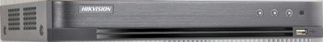 Hikvision iDS-7204HQHI-M1/S (C) 4 csatornás AcuSense THD DVR; 4MP lite@15fps, 1080p@15fps, 1080p lite@25fps; + 1x6 MP IP; koax audio